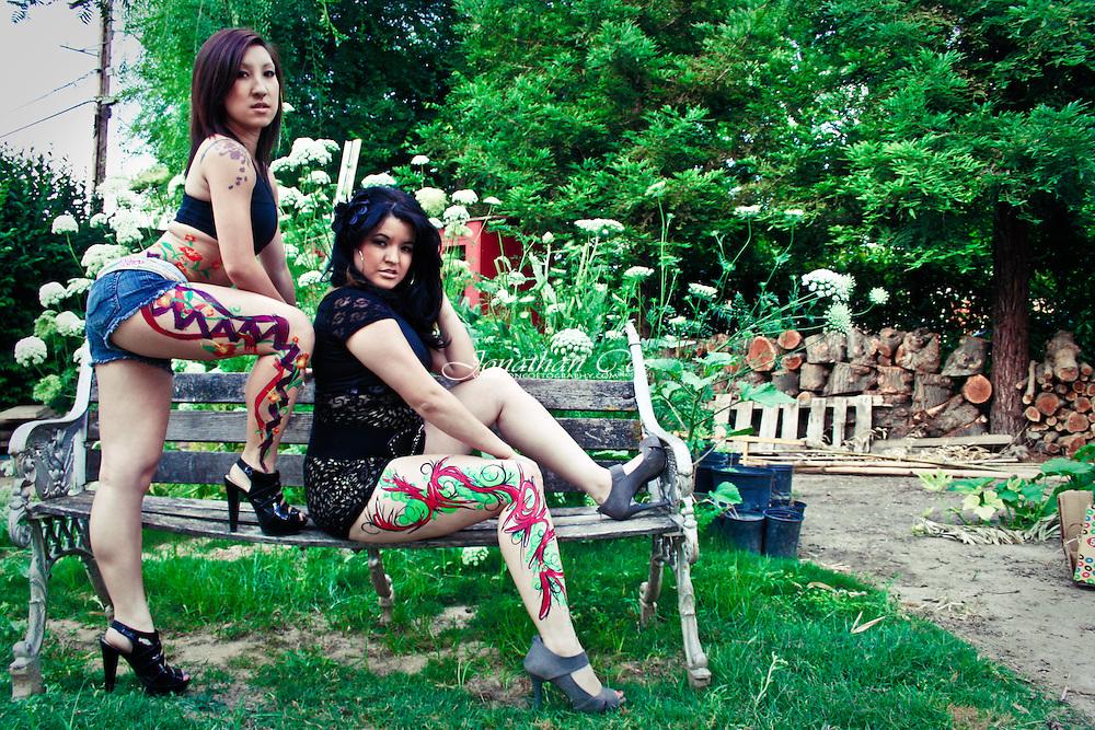 Models: Lia Xiong &amp; Kalia Meza<br /> Location: Fresno, CA