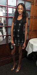 Model JOURDAN DUNN at Vogue's Celebation of Fashion dinner held at The Albermarle, Brown's Hotel, Albermarle Street, London on 18th September 2008.