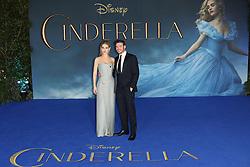 © Licensed to London News Pictures. 19/03/2015, UK. Richard Madden, Lily James, Cinderella - UK film premiere, Leicester Square, London UK, 19 March 2015. Photo credit : Richard Goldschmidt/Piqtured/LNP