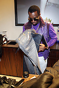 """Sean"""" P.Diddy"""" Combs at The Sean John Boutique on Fifth Ave on September 10, 2009  in New York City"""