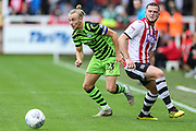 Forest Green Rovers Joseph Mills(23) runs forward during the EFL Sky Bet League 2 match between Exeter City and Forest Green Rovers at St James' Park, Exeter, England on 12 October 2019.