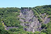 Vivian slate quarry, Dinorwic slate quarries, Llanberis, Gwynedd, Snowdonia, north Wales, UK