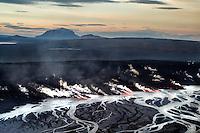 Volcanic eruption in Holuhraun, Iceland. Taken 13th of september 2014.