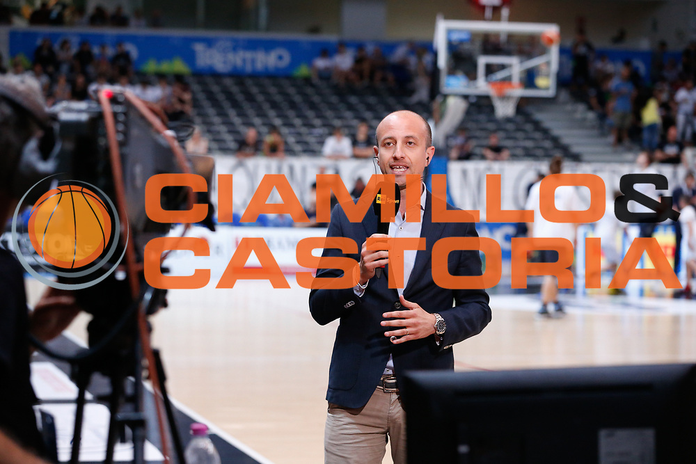 Maurizio Fanelli<br /> Dolomiti Energia Aquila Basket Trento - Umana Reyer Venezia <br /> Lega Basket Serie A 2016/17 Finali Gara 03<br /> Trento, 14/06/2017<br /> Foto Ciamillo-Castoria / M. Brondi
