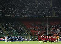 24-08-2008 Milano Italy sport calcio Inter-Roma Supercoppa Italiana 2008 nella foto : minuto silenzio   ph. Davide Elias / Agenzia Insidefoto