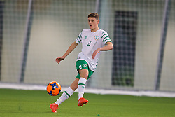 EDINBURGH, SCOTLAND - Friday, November 4, 2016: Republic of Ireland's Max Murphy in action against Scotland during the Under-16 2016 Victory Shield match at ORIAM. (Pic by David Rawcliffe/Propaganda)