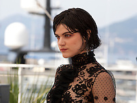 Actress Soko at the The Stopover (Voir Du Pays) film photo call at the 69th Cannes Film Festival Wednesday 18th May 2016, Cannes, France. Photography: Doreen Kennedy