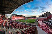 General view of the Oakwell stadium before the Sky Bet League 1 match between Barnsley and Oldham Athletic at Oakwell, Barnsley, England on 12 April 2016. Photo by Mark P Doherty.