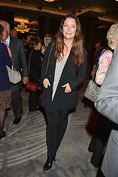 RACHEL DE THAME at a party to celebrate the publication of Thenford: The Creation of an English Garden by Michael & Anne Heseltine held at The Grosvenor House Hotel, Park Lane, London on 24th October 2016.
