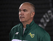 Adam State Grizzlies coach Damon Martinez during the Bryan Clay Invitational in Azusa, Calif., Wednesday, April 17, 2019.