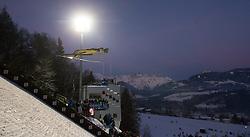 06.01.2015, Paul Ausserleitner Schanze, Bischofshofen, AUT, FIS Ski Sprung Weltcup, 63. Vierschanzentournee, Finale, im Bild Gregor Deschwanden (SUI) // Gregor Deschwanden of Switzerland during Final Jump of 63rd Four Hills <br /> Tournament of FIS Ski Jumping World Cup at the Paul Ausserleitner Schanze, Bischofshofen, Austria on 2015/01/06. EXPA Pictures © 2015, PhotoCredit: EXPA/ JFK