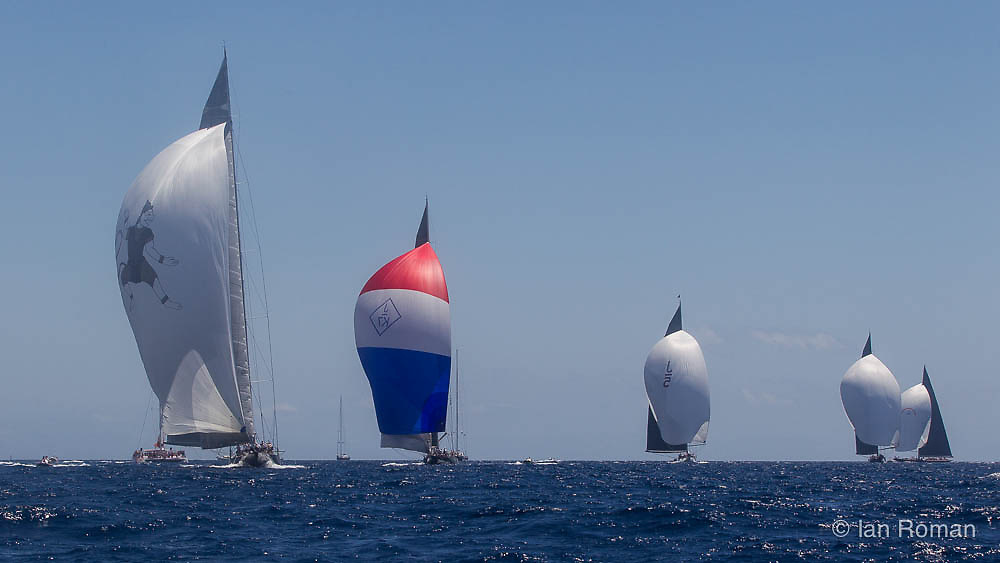 SPAIN, Palma. 22nd June 2013. Superyacht Cup. Race Four, Coastal Race.
