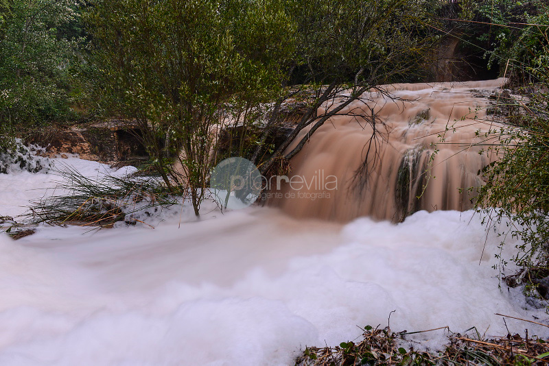 Desbordamiento de la rambla de la Mearrera. Gota Fría. Almansa. Albacete ©ANTONIO REAL HURTADO / PILAR REVILLA