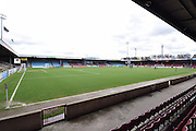 Scunthorpe United ground before the Sky Bet League 1 match between Scunthorpe United and Swindon Town at Glanford Park, Scunthorpe, England on 28 March 2016. Photo by Ian Lyall.