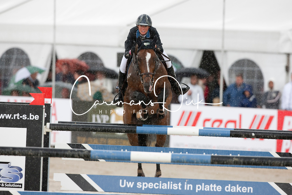 Van der Straten Cindy (BEL) - Sherman Sitte<br /> Grand Prix BMW Aalst 2011<br /> © Dirk Caremans