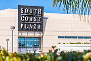 Crystal Court South Coast Plaza Signage