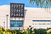 Crystal Court South Coast Plaza Signage