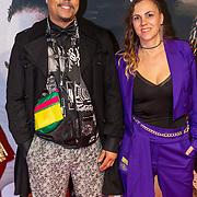 NLD/Amsterdam/20200217-Suriname filmpremiere, tvkok London Loy en partner