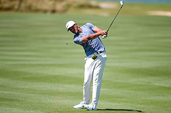 March 21, 2018 - Austin, TX, U.S. - AUSTIN, TX - MARCH 21: Tony Finau hits a shot from the fairway during the First Round of the WGC-Dell Technologies Match Play on March 21, 2018 at Austin Country Club in Austin, TX. (Photo by Daniel Dunn/Icon Sportswire) (Credit Image: © Daniel Dunn/Icon SMI via ZUMA Press)