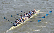 Chiswick, London, Great Britain.<br /> St Edwards School.Champ eight. Competing at the  2016 Schools Head of the River Race, Reverse Championship Course Mortlake to Putney. River Thames.<br /> <br /> Thursday  17/03/2016<br /> <br /> [Mandatory Credit: Peter SPURRIER;Intersport images]