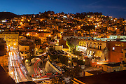 A city of many levels, Guanajuato, Central Mexico