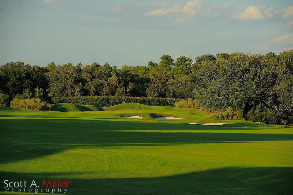 The 1st hole on the North Course at Grand Cypress on Oct. 19, 2010 in Orlando, Florida....©2010 Scott A. Miller