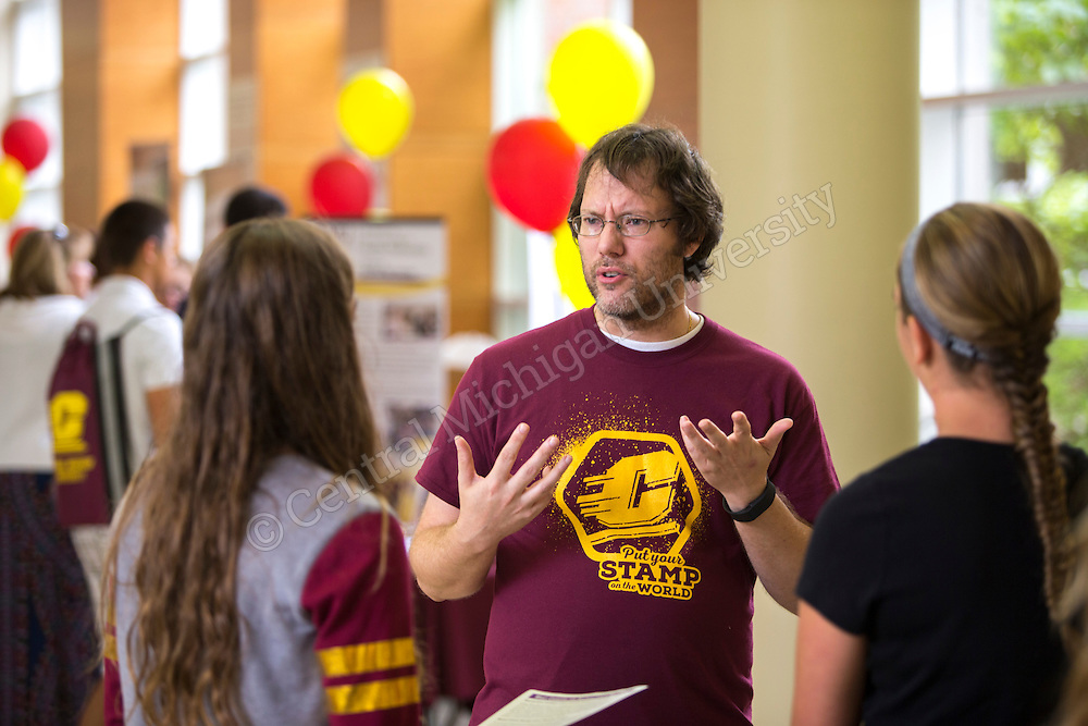 College of Health Professions College Days on the campus of Central Michigan University July 29,2016. Central Michigan University photos by Steve Jessmore