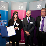 Images from the 2014 GTSC Probabtion Event Pictured are Jackie Brock (Chief Executive of Children First), Lauren Laird (Angus)),,Ken Muir (Chief Executive GTCS) and Derek Thompson (Convener GTCS). Thursday 12th June 2014.