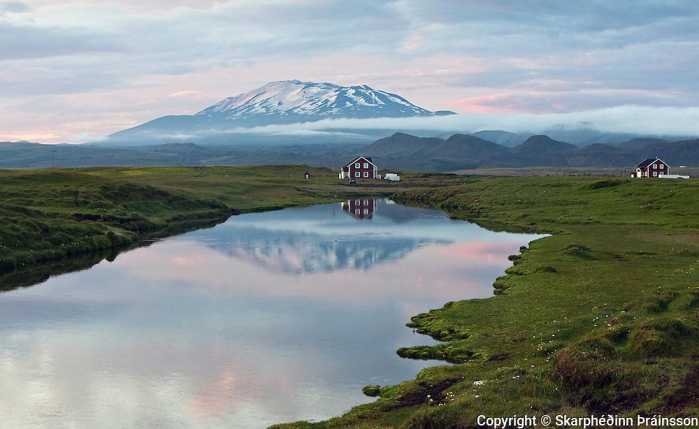 Volcano Hekla, south Iceland