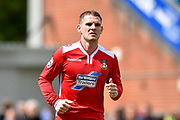 Wrexham AFC Midfielder, Anthony Barry (7) during the Vanarama National League match between Eastleigh and Wrexham FC at Arena Stadium, Eastleigh, United Kingdom on 29 April 2017. Photo by Adam Rivers.