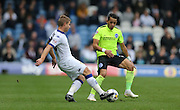 Leeds United defender Gaetano Berardi (28) passes  during the Sky Bet Championship match between Leeds United and Brighton and Hove Albion at Elland Road, Leeds, England on 17 October 2015.