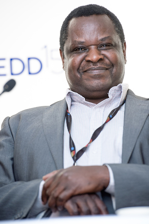 04 June 2015 - Belgium - Brussels - European Development Days - EDD - Jobs - Developing with decent work - Wellington Chibebe , Deputy General Secretary of the International Trade Union Confederation © European Union