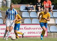 FODBOLD: Alba Kristiansen (NFC/VIF) under kampen i Sjællandsserien mellem Ølstykke FC og Nykøbing/Vordingborg den 7. september 2019 på Ølstykke Stadion. Foto: Claus Birch