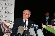 Ceda - Prime Minister John Howard as guest speaker at the Sydney Convention & Exhibition Centre.