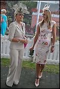 NIKKI SCHOFIELD; JENNY BROUGH, Ebor Festival, York Races, 20 August 2014