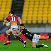WELLINGTON, NEW ZEALAND - 31 AUGUST: Action during the New Zealand ITM Cup  rugby union game played on 31 August 2018, between Wellington v Southland, played at Westpac  Stadium, Wellington, New Zealand.  Wellington won 52-7.