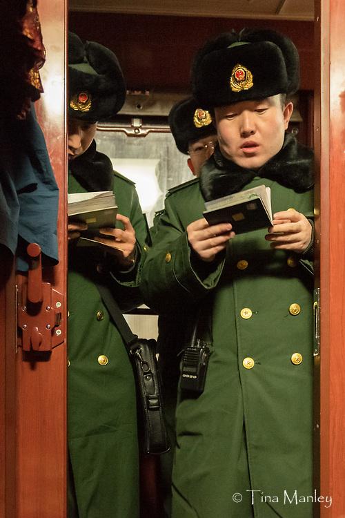 Train from Beijing, China, to Ulaanbaatar, Mongolia.