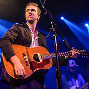 "WASHINGTON, DC - July 13th, 2014 - Hamilton Leithauser (left) performs at The Hamilton in Washington, D.C. Leithauser, a D.C. native, released his first solo album this year while his former band, The Walkmen, are on a self-proclaimed ""extreme hiatus."" (Photo by Kyle Gustafson / For The Washington Post)"