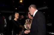 Christianne Amanpour andMichael Eisner. Opening night of Mary Poppins at the Prince Edward Theatre and party afterwards at 1 Leicester Sq. 15 December 2004. SUPPLIED FOR ONE-TIME USE ONLY> DO NOT ARCHIVE. © Copyright Photograph by Dafydd Jones 66 Stockwell Park Rd. London SW9 0DA Tel 020 7733 0108 www.dafjones.com