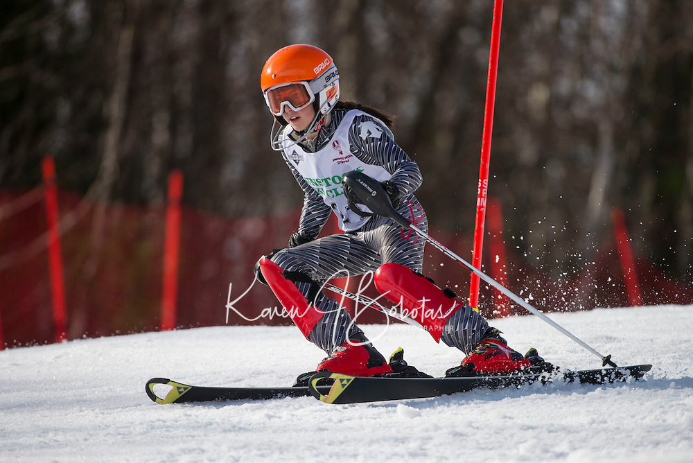 Piche  ~ Paul Ladouceur Memorial Slalom U12 girls with Gunstock Ski Club.  ©2016 Karen Bobotas Photographer