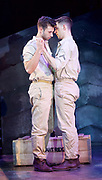 Yank!<br />  by <br /> at the Charing Cross Theatre, London<br /> 6th July 2017 <br /> press photocall <br />  <br /> A poignant original, musical and love story based on the true, hidden history of gay soldiers during World War Two. It transfers to London following a UK spring premi&egrave;re at Hope Mill Theatre in Manchester which received extensive critical acclaim.<br /> <br />  Scott Hunter as Stu <br /> Andy Coxon as Mitch <br /> <br /> <br /> <br /> Photograph by Elliott Franks <br /> Image licensed to Elliott Franks Photography Services