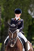 Suzanne van de Ven - Donna Gracia<br /> FEI European Championships Dressage Juniors and Young Riders 2012<br /> © DigiShots