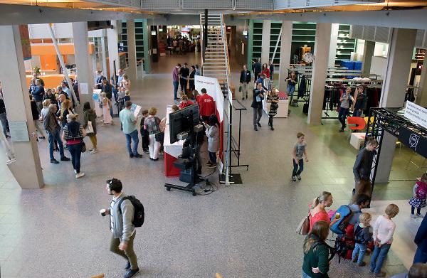 Nederland, Nijmegen, 6-10-2018 Open dag van de Radboud Universiteit Nijmegen. Foto: Flip Franssen