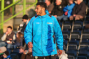 Forest Green Rovers Kaiyne Woolery(14) warming up during the Vanarama National League match between Forest Green Rovers and Braintree Town at the New Lawn, Forest Green, United Kingdom on 21 January 2017. Photo by Shane Healey.