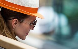 May 30, 2018 - Paris, Ile-de-France, France - Jelena Djokovic watching her husband match during the second round at Roland Garros Grand Slam Tournament - Day 4 on May 30, 2018 in Paris, France. (Credit Image: © Robert Szaniszlo/NurPhoto via ZUMA Press)