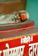 Sleeping Sadhu - Rishikesh - India