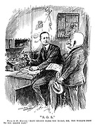 """S.O.S."" Punch (to Mr. Marconi). ""Many hearts bless you to-day, sir. The world'd debt to you grows fast."""