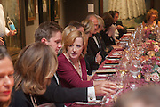 HUGO DONNITHORNE-TAIT;CATHERINE WEISS, Mark Weiss dinner, Nationaal Portrait Gallery. London. 15 October 2012.