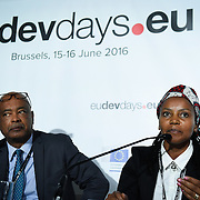 20160615 - Brussels , Belgium - 2016 June 15th - European Development Days - Impact investing for Africa - EABF Workshop - Treasure Maphanga , Director Trade and Industry Division , AU Commission © European Union
