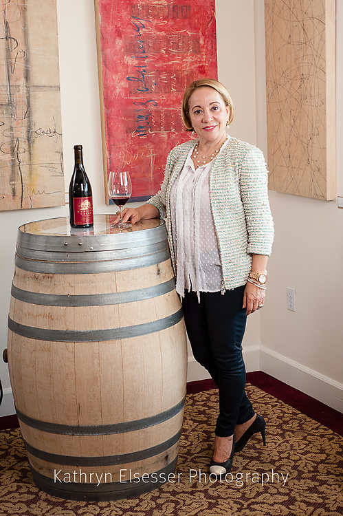 Julia Russell of Mansion Creek Cellars in Walla Walla,